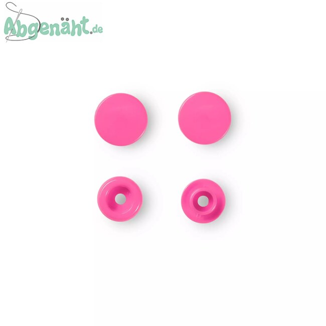 Druckknöpfe Color Snaps in Pink einzeln