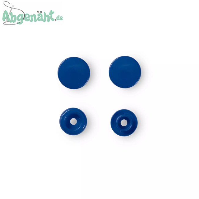 Druckknöpfe Color Snaps in Blau einzeln