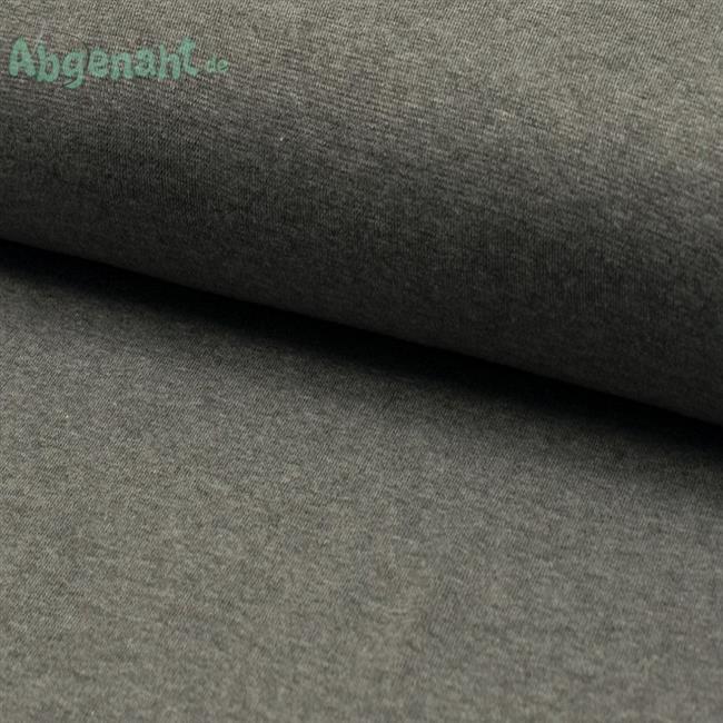 Bündchen   Bündchenstoff   Grau meliert   STANDARD 100 by OEKO-TEX®