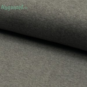 Bündchen | Bündchenstoff | Grau meliert | STANDARD 100 by OEKO-TEX®