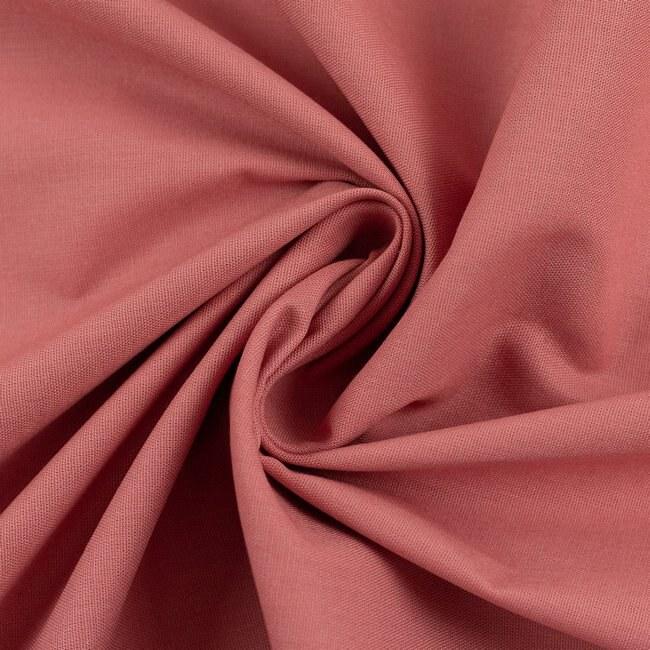 Baumwolle Webware Uni   Rosa   Heide   Swafing drapiert