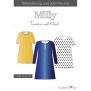 Papierschnittmuster   Tunika und Kleid   Milly   Damen von Fadenkäfer Vorderseite