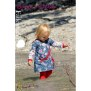 Papierschnittmuster | Basic-Kleid Kinder | Fadenkäfer rueckseite