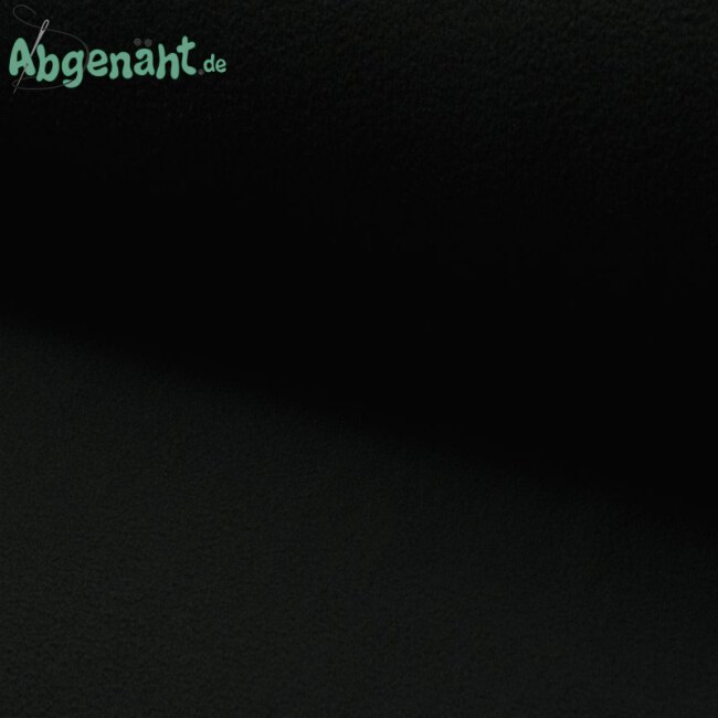 Lambskin Fleece   Lammfell Imitat   Uni Schwarz ballen