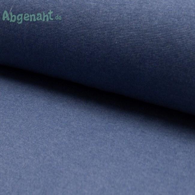 Bündchen   Bündchenstoff   Jeans hell meliert   STANDARD 100 by OEKO-TEX®