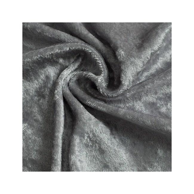 Pannesamt Grau