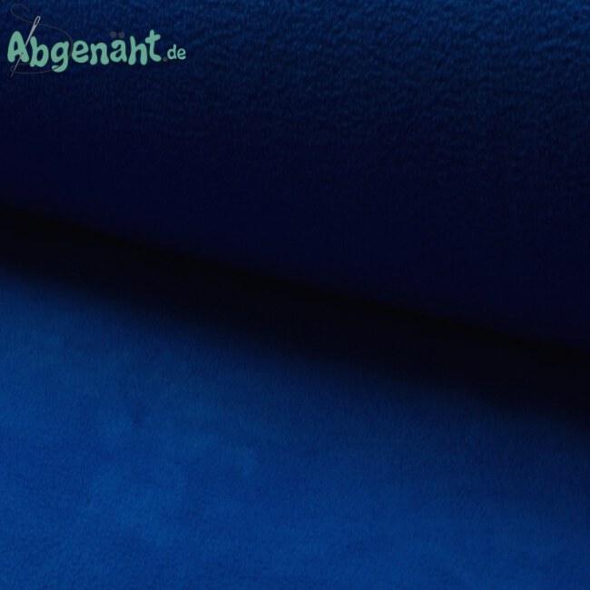 Lambskin Fleece | Lammfell Imitat | Uni Royalblau ballen