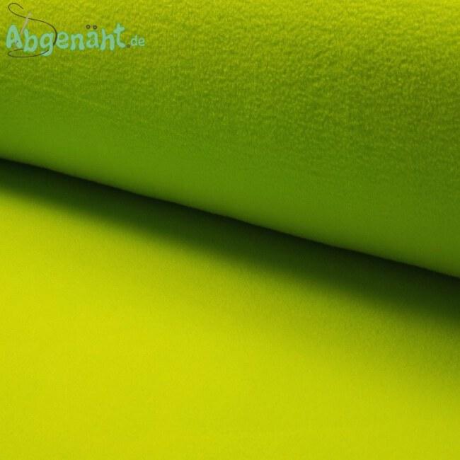Lambskin Fleece | Lammfell Imitat | Uni Lime / Hellgrün ballen