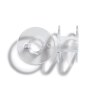 Nähmaschinenspulen für CB-Greifer, Kunststoff, 20,5mm