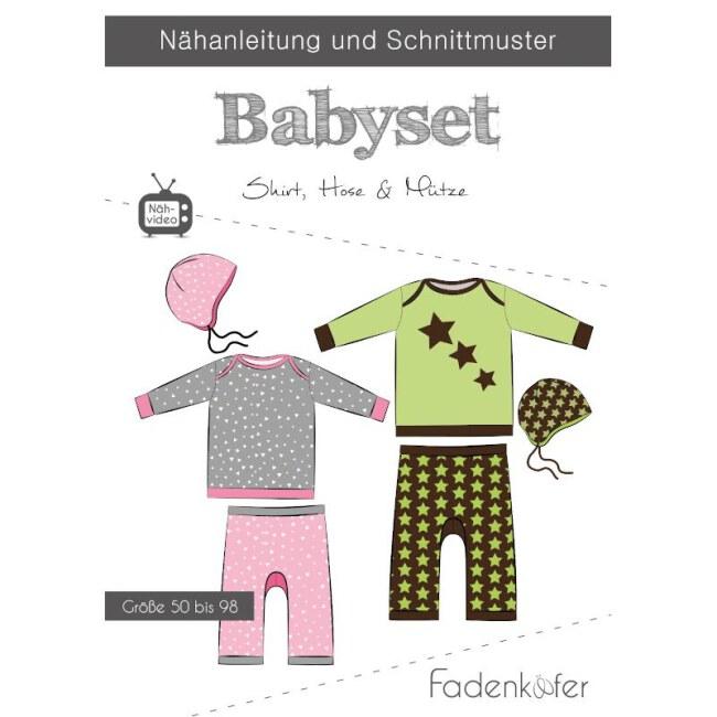 Schnittmuster - Papierschnittmuster   Baby-Set   Fadenkäfer vorderseite