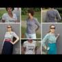 Papierschnittmuster Strickjacke | Minna | Damen von Fadenkäfer naehbeispiele