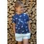 Papierschnittmuster Basicshirt Kinder von Fadenkäfer