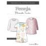 Papierschnittmuster Bluse oder Tunika   Fennja   Damen von Fadenkäfer deckblatt