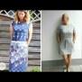 Papierschnittmuster Kleid | Pia | Damen von Fadenkäfer Naehbeispiele