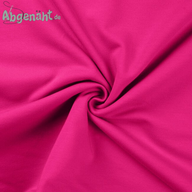 French Terry - Sommersweat | Uni Fuchsia | STANDARD 100...